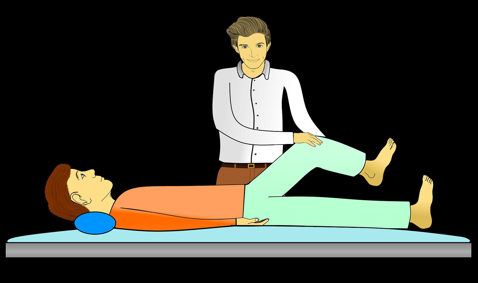 reabilitação física, após uma lesão medular.